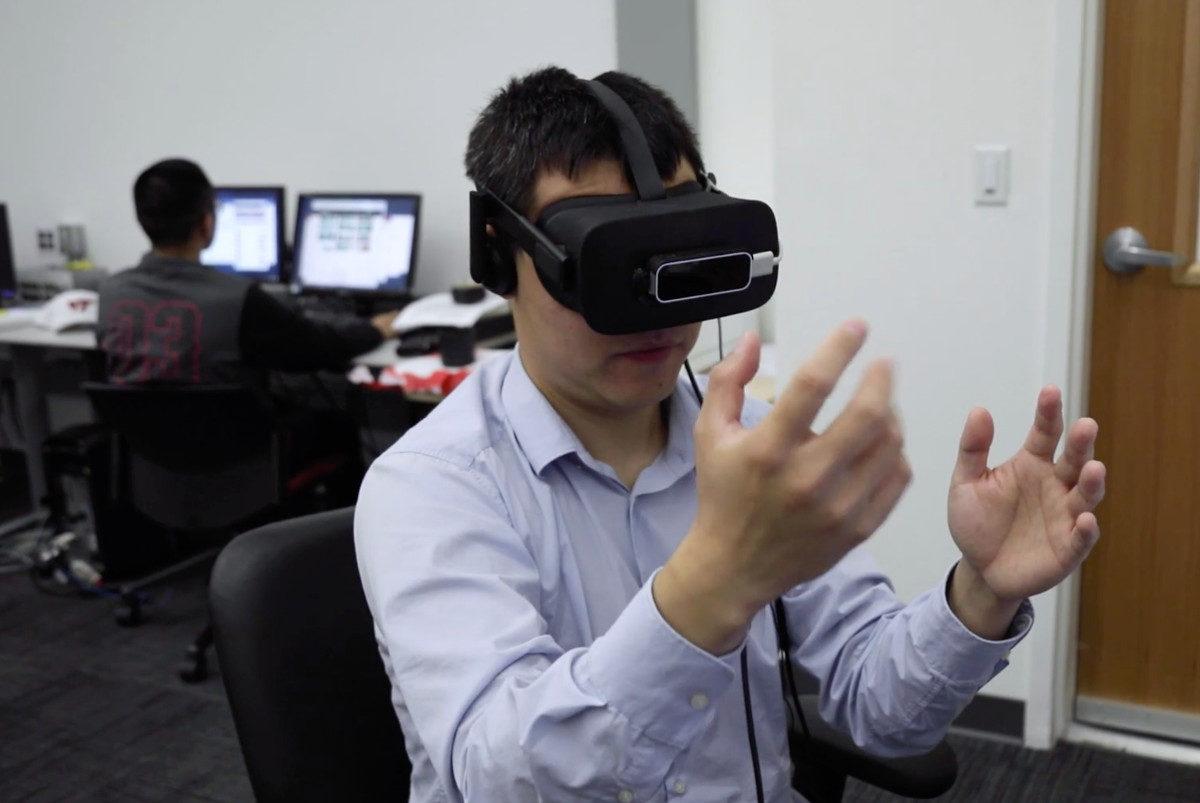 Tech Trends VR Consultancy Virginia Tech Jedi Star Wars Haptics Mixed Reality