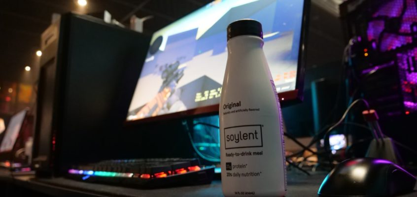 Soylent esports UK champions league Tech Trends High Energy Vegan High Protein Drink