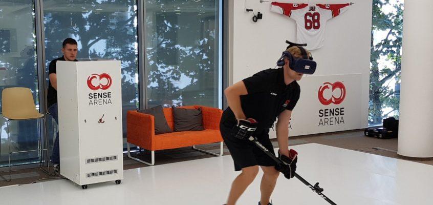Tech Trend VR Hockey Training Sense Arena CES 2019 Virtual Reality 7