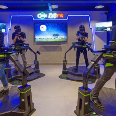 Tech Trends Esports Gaming Virtual Reality Immersive Entertainment Virtuix HP Vive Tournaments