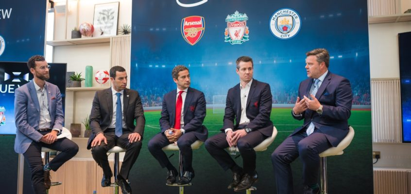 Tech Trends Intel Immersive Football Premiere League Arsenal Manchester Liverpool FC Virtual Reality