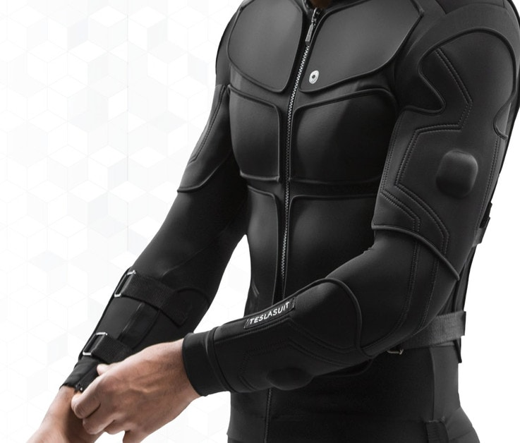 Teslasuit South by Southwest Virtual Reality Haptics
