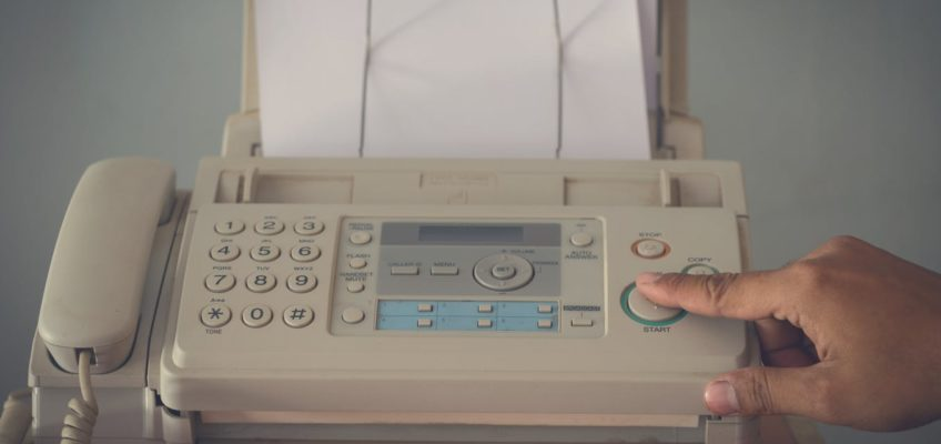Tech Trends Fax Machine USA