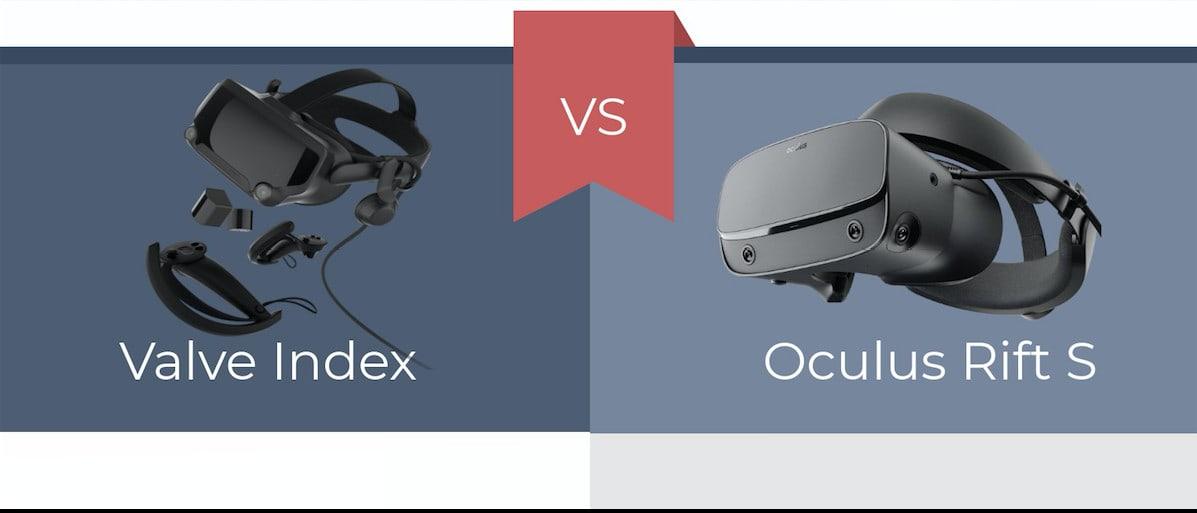 Oculus rift s vs valve index