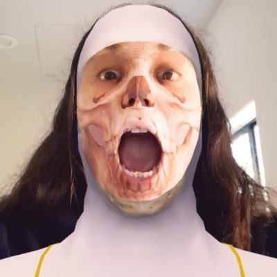 Alice Bonasio VR MR Tom Atkinson Tech Trends Review AR Mixed Virtual Reality Augmented IOT XR health borley rectory film ghosts nun snapchat filter lens studio