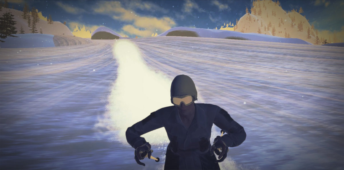 Tech Trends Powder Virtual Reality Sports Winter Skiing Simulation