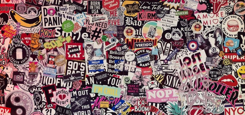 Sticker Wall collectible stickers Tech Trends StickerYou