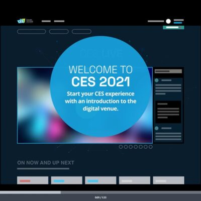 CES 2021 Virtual Conference Tech Trends