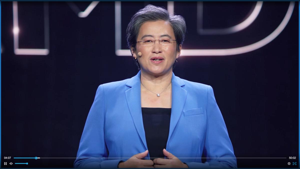 Lisa Su AMD CES2021 Keynote Virtual Conference Tech Trends