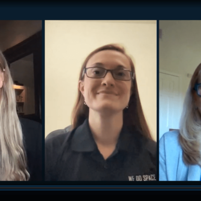 Rachel Crane, Kat Coderre, Jana Stoudemire in that order Tech Trends CES 2021