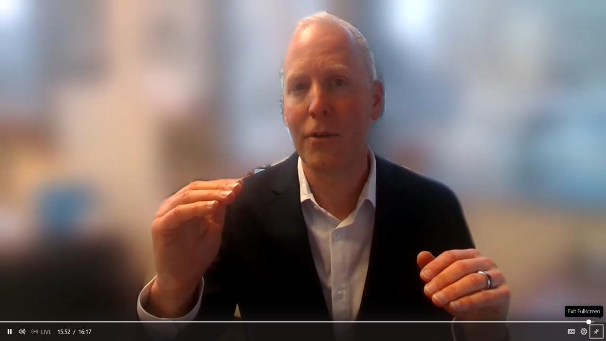 Steve Koenig CES Virtual Conference 2021 Tech Trends