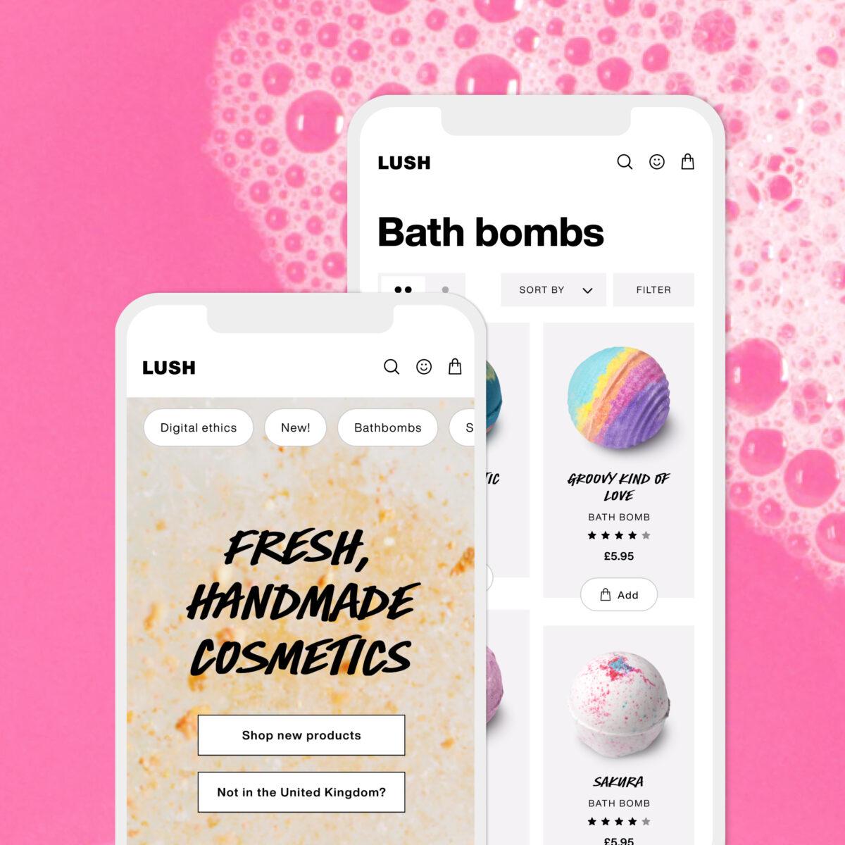 Lush Tech Trends Digital Retail
